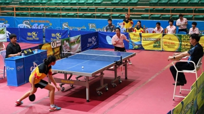 Team events kick off National Table Tennis Championship 2019