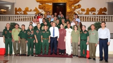 Deputy PMs receive national contributors from Nghe An and Tien Giang