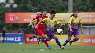 Six teams compete for national women's football championship