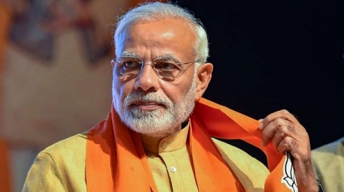 Modi promises to fulfill countrymen's aspirations in 2nd term