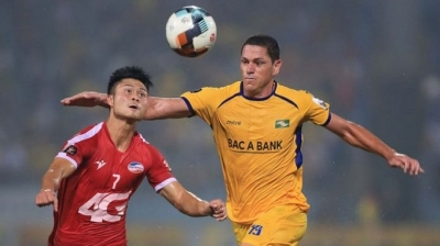 V.League preview: Song Lam Nghe An hope to put brake on Ho Chi Minh City