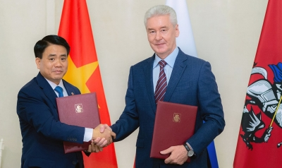 Hanoi, Moscow sign cooperation agreement until 2021
