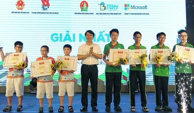 Winners of science and technology contest for children announced