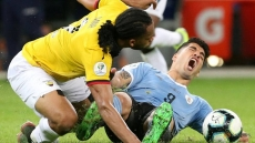 Football: Uruguay crush 10-man Ecuador in Copa America opener