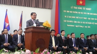 Cambodian Deputy PM values Vietnam's support for education sector