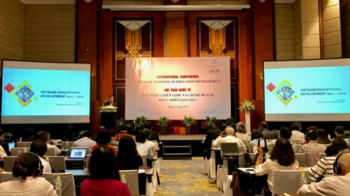 Conference discusses education development strategic plan