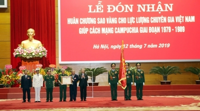 Vietnamese experts assisting Cambodian revolution during 1979-1989 honoured