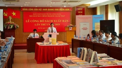 Book on anti-corruption by Party General Secretary and State President Trong launched