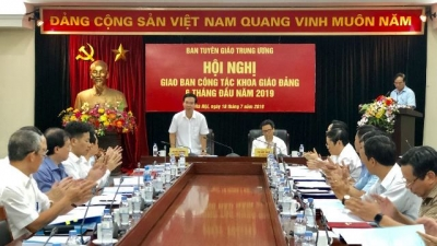 Politburo member urges for active implementation of Party's scientific and education work