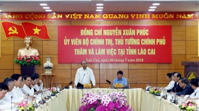 Lao Cai should strive to be among 15 developed localities nationwide: PM