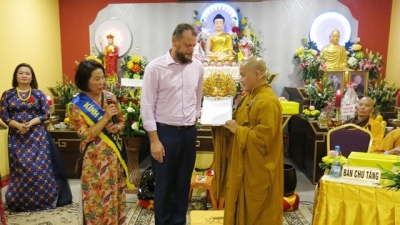 Vietnamese's Buddhist cultural centre in Czech Republic gets provincial status