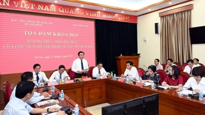 Seminar discusses Ho Chi Minh Thought in Party building