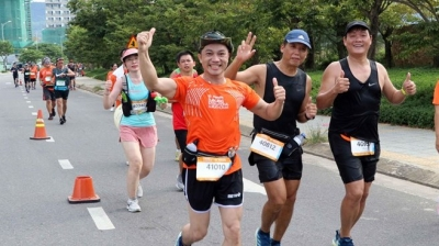 Over 9,000 runners join Da Nang International Marathon 2019