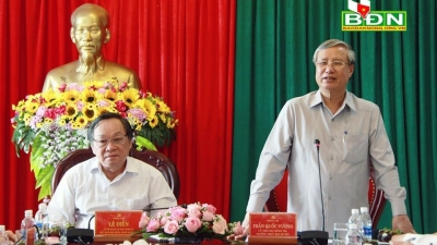 Dak Nong hailed for positive achievements in socio-economic development