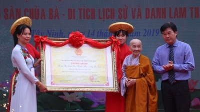 Worship ceremony for Linh Son Holy Mother honoured as a national intangible heritage