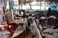 63 killed in Kabul wedding hall explosion