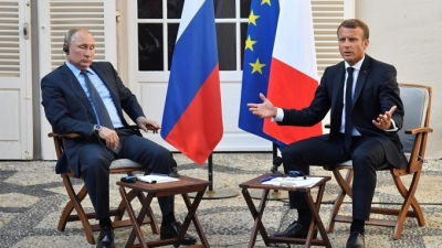 Improving Russia-France relations
