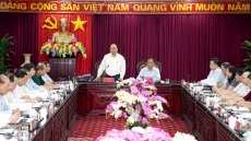 Prime Minister works with Bac Kan, Thai Nguyen leaders