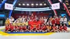 Vietnam ranked third at 2019 World Taekwondo World Cup Poomsae Championships