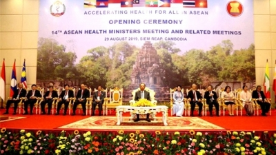 ASEAN Health Ministers Meeting kicks off