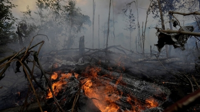 "The ""heat"" from Amazon rainforest wildfires"