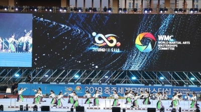 Vietnam competes at Chungju World Martial Arts Masterships