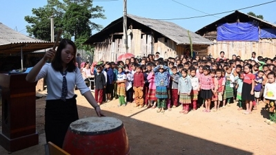 New school year begins in mountainous areas