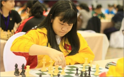 Nguyen Thien Ngan crowned world U14 rapid chess champion