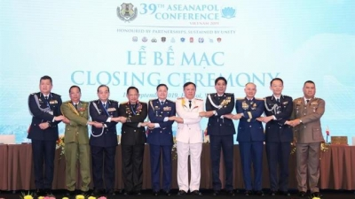 39th ASEAN Chiefs of Police Conference wraps up in Hanoi