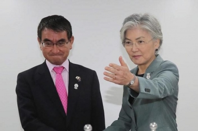 Japanese, RoK foreign ministers plan to meet next week