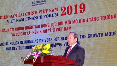 Forum discusses financial policy reform to boost growth model transformation