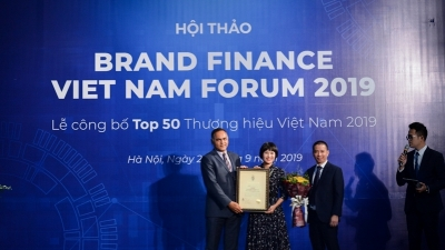 Viettel tops list of 50 most valuable brands again