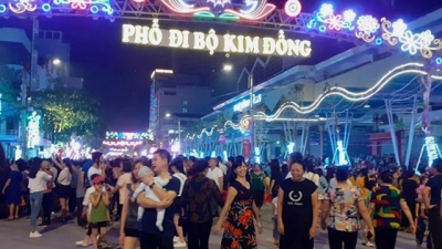 New walking street and food market opens in Cao Bang