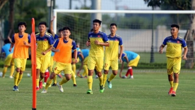 Vietnam U19s set off for Thailand to attend GSB Bangkok Cup 2019