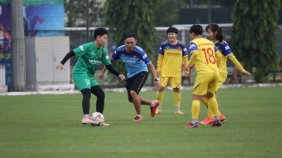 Vietnam's women's team convene for SEA Games title defence mission