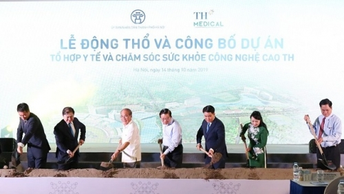 Work begins on Vietnam's first hi-tech medical and healthcare complex in Hanoi