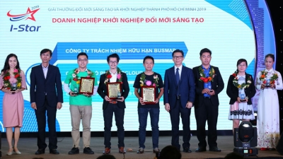 Winners of HCM City's I-Star Awards honoured
