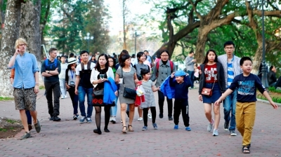 Foreign arrivals to Hanoi surge 10.8%