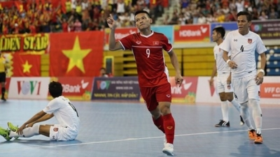 Vietnam win bronze medal at AFF futsal champs