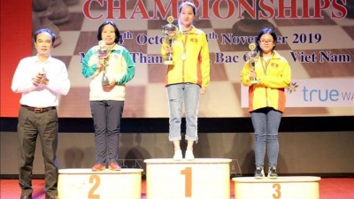 Vietnam bags 14 medals at Southeast Asia Chess Championship 2019