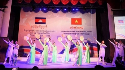 Exchange between Vietnamese and Cambodian youths wraps up