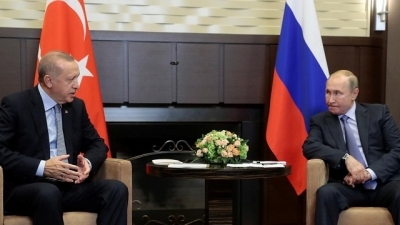 Turkey, Russia leaders discuss Syria's situation