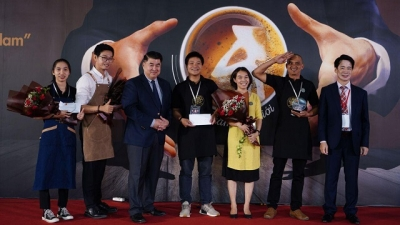 15 Vietnamese coffee brands compete in first Vietpresso Competition