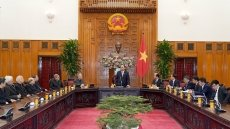 PM receives members of Catholic Bishops' Conference of Vietnam