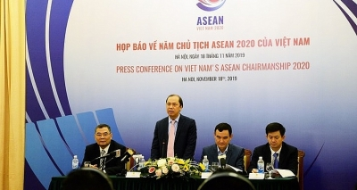 International press conference on Vietnam's ASEAN Chair Year 2020