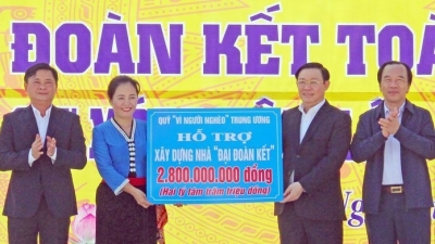 Deputy PM attends Great National Unity Festival in Nghe An