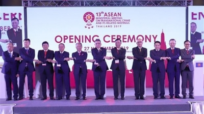 Vietnam attends ASEAN meeting on transnational crime in Thailand