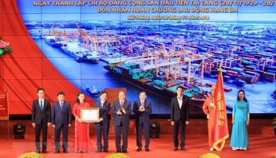 90th anniversary of Hai Phong Port Workers' Traditional Day celebrated