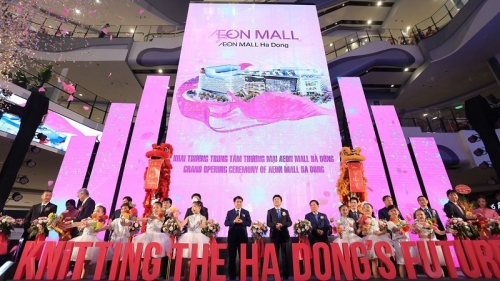 Japan's Aeon Group opens second shopping mall in Hanoi