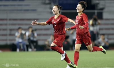 Vietnam edge past Thailand to defend SEA Games women's football title